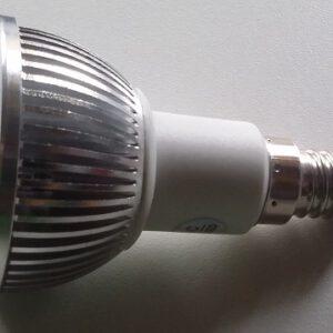 reflector lamp inbouwspot vervangen led lamp e14 reflector gaslamp