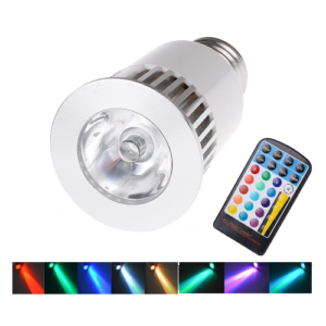 RGB led lamp E27