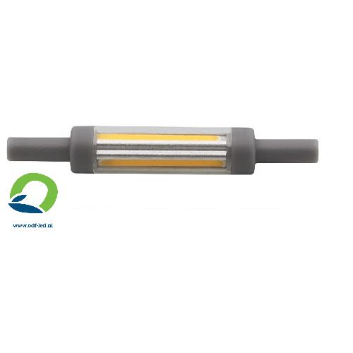 R7S halogeen buislamp vervangen door R7S led lamp